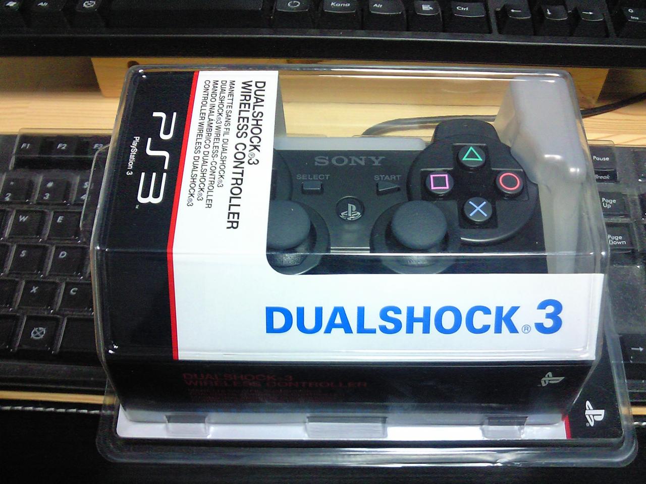 PS3コントローラ